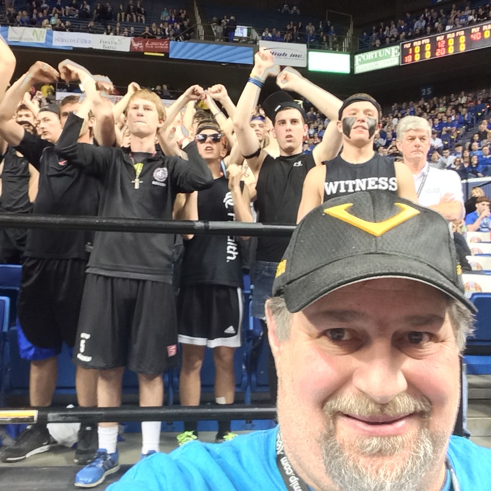 Sumoflam and the CovCath Cheering Section