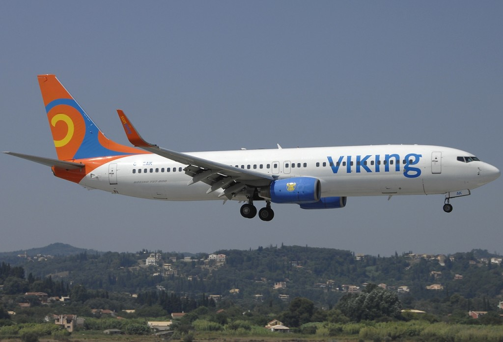 Viking Airlines Plane