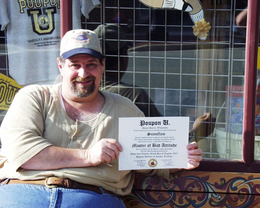 Poupon U Certificate