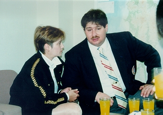 I spent three days with Olympic Gold Medalist Nadia Comaneci during her visit to Kyushu in 1990