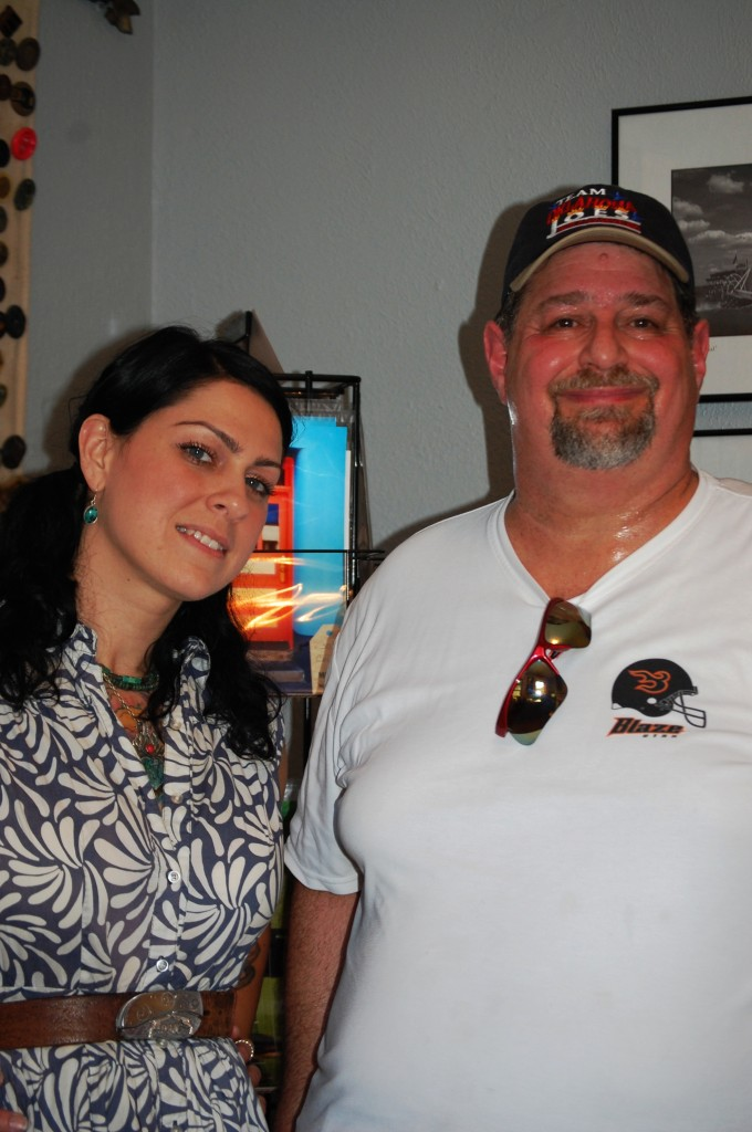 "An ""usie"" with Danielle Colby from American Pickers taken in 2012"