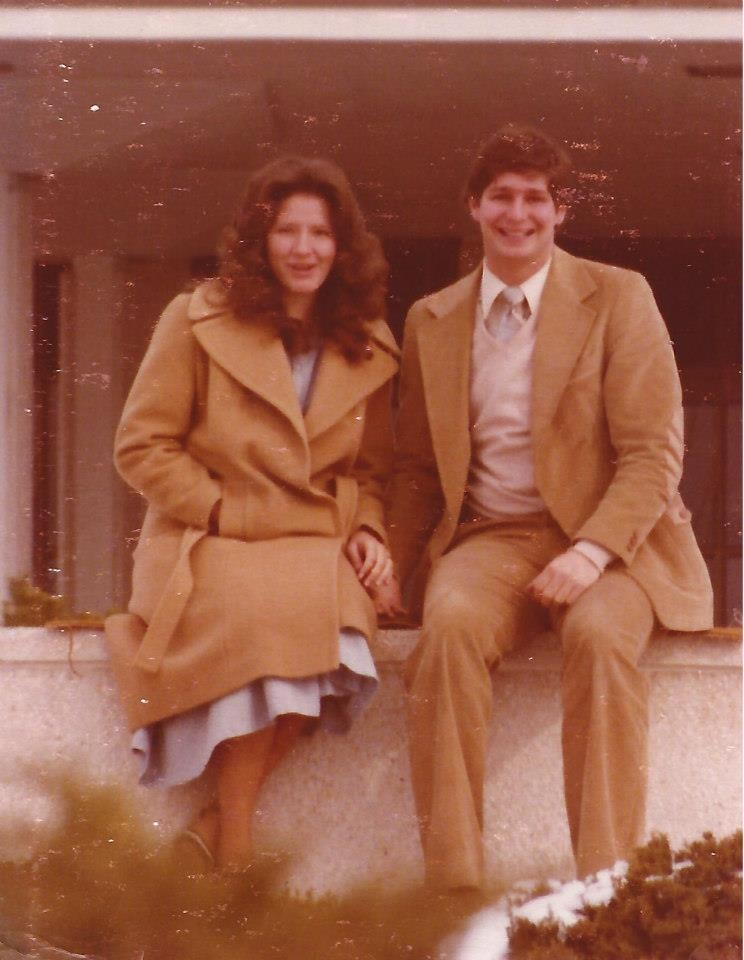 David and Julianne in Provo, UT February 1979