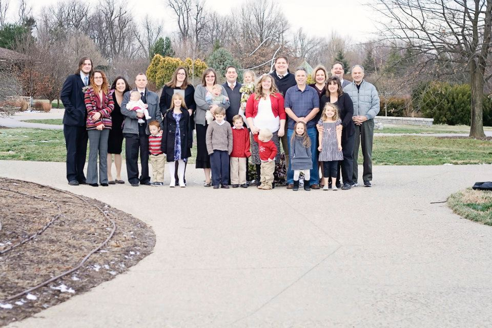 Kravetz Family Group photo with grandchildren and some family members