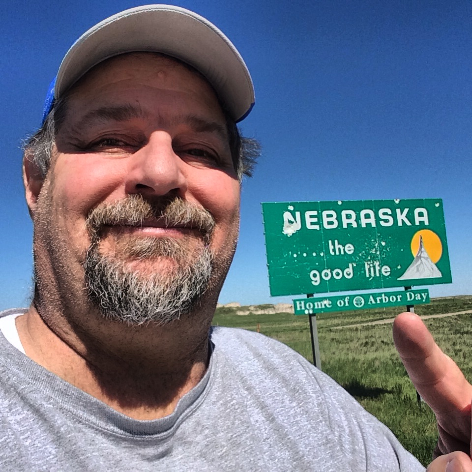 Went through Nebraska on my to see Carhenge in May 2014