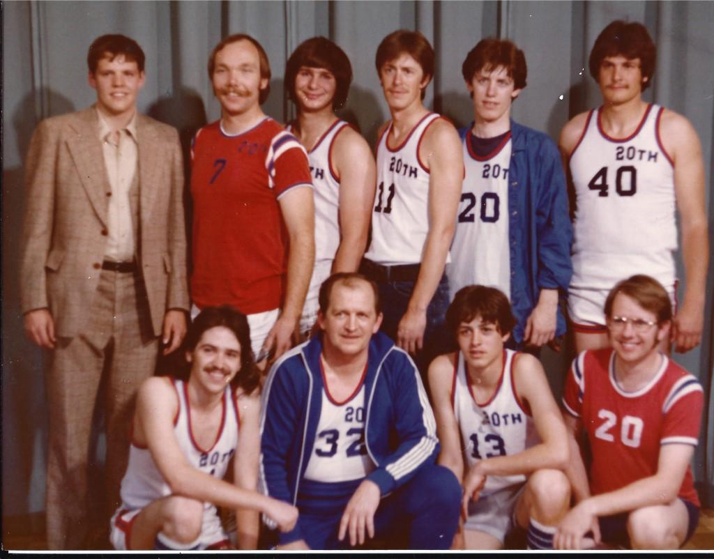 Church Basketball Team 1975