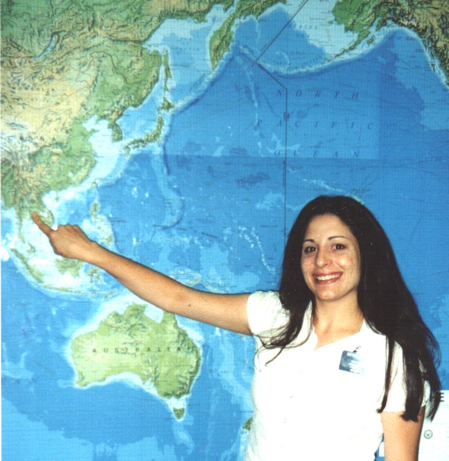 Daughter Marissa readies for mission to Thailand