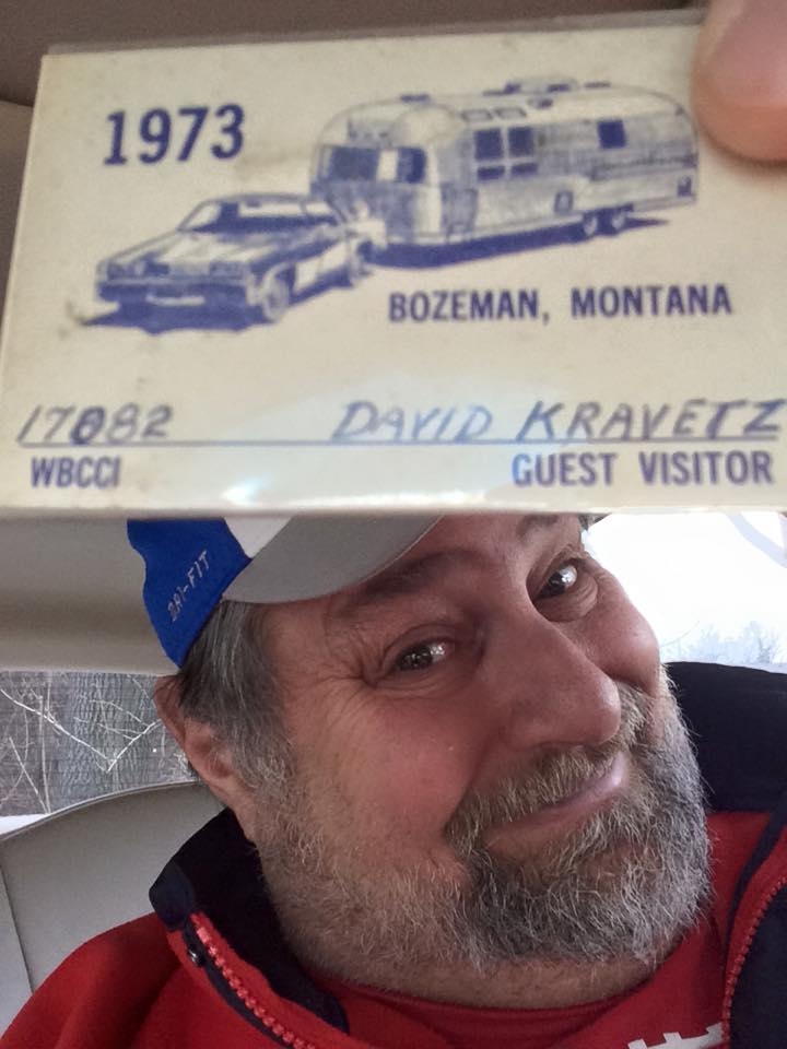 My Wally Byam pass 1973 - yes, I still have it 402 years later!