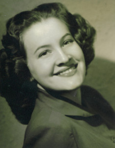 Arlene Shepherd Bateman in 1950.  The mother of my wife Julianne.