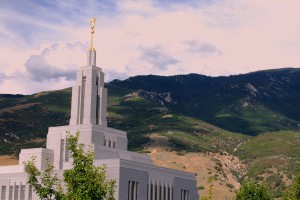 The LDS Draper Temple