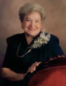 My dear mother in law Arlene Bateman on her 50th anniversary