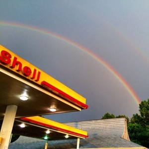 Rainbow - I took this a couple of years in ago in Arkansas. But you get the picture.