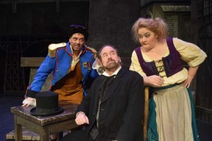 Tregoney Shepherd as Madame Thenardier in Broadway production of Les Miserables