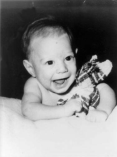 A baby photo of me probably from Albuquerque in 1957