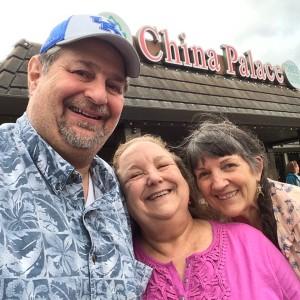 With Carla and Ione in Santa Rosa, CA