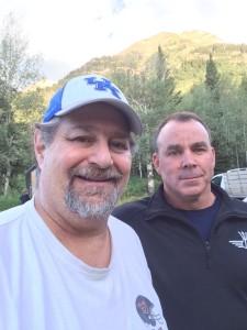 With Johnny Mac at Sundance Resort in Utah