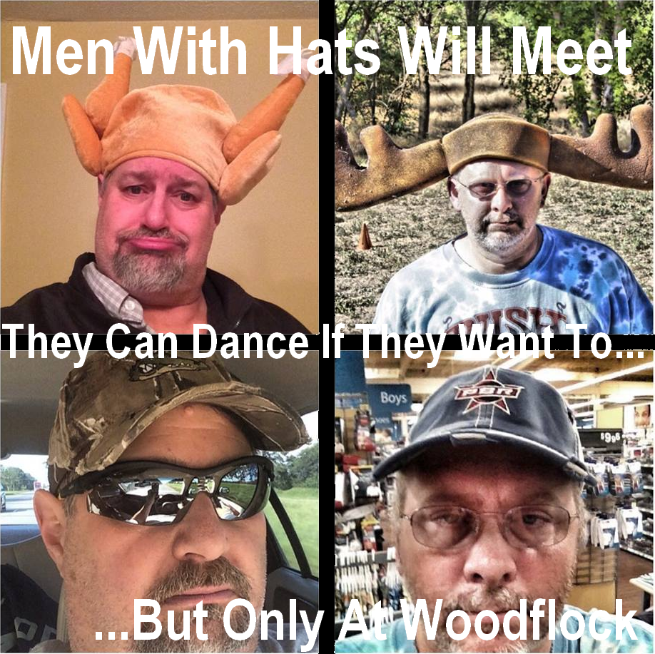 Men with Hats...my pal from Cal...Ed Townsend